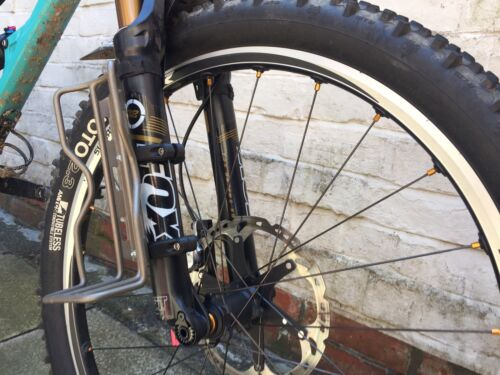 Bikepacking Cargo Cage mount brackets custom. Carry additional items.