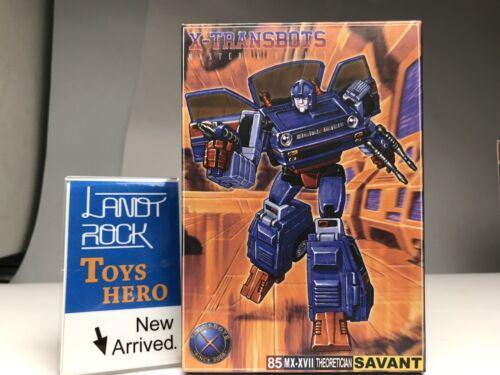 In Hand TRANSFORMERS X-Transbots X MX-17 MX-XVII Skids Shawen Toys Hero