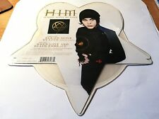 "HIM - BURIED ALIVE BY LOVE - 2003 BMG LIMITED EDITION SHAPED PICTURE DISC ""RARE"""