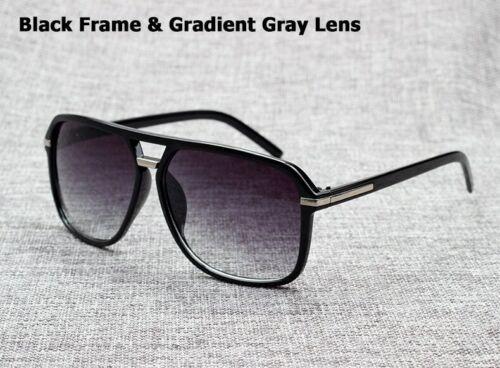 Men Square Style Gradient Sunglasses Driving Vintage Design Cheap Glasses Oculos