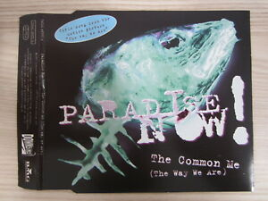 CD-Paradise-Now-The-Common-Me-TOP-RARITAT-PROMO-MUSTER