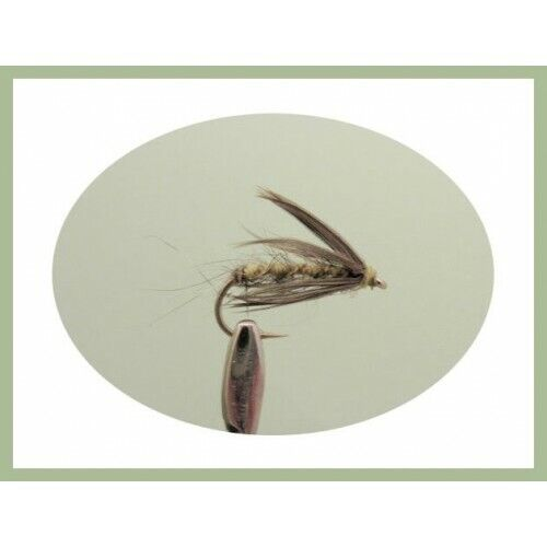 named in description Fishing Flies SF5F Wet Trout Flies 12 x Spider Patterns
