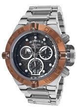 New Mens Invicta 17609 Subaqua Chronograph Roating Copper Bezel Bracelet Watch