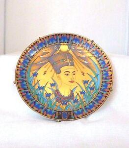 Nefertiti-22-carat-Gold-plate-Porcelain-Compton-amp-Woodhouse-Collectors-Plate