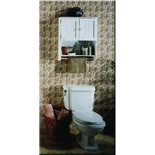 bathroom wall cabinet organizer w towel holder white