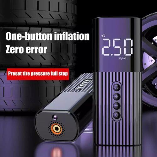 Auto Reifen Luftpumpe Kompressor Druckluft Fahrrad Pumpe mit Auto Adapter DE