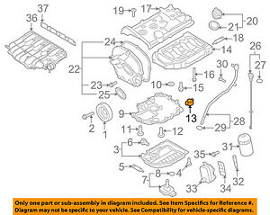 vw volkswagen oem 09 16 eos engine parts check valve 06h103156 ebay