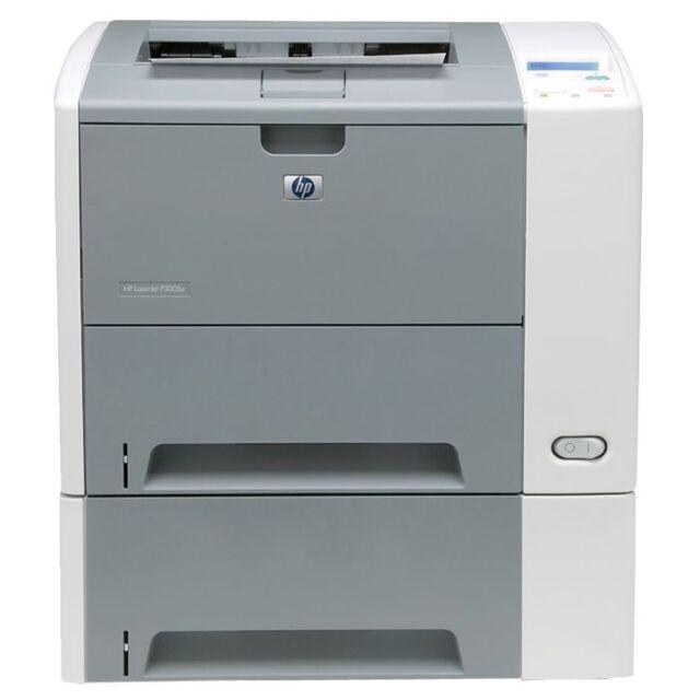 Q7816A HP DRUCKER LASERJET P3005X DUPLEX NETZWERK LASERDRUCKER A4 s/w