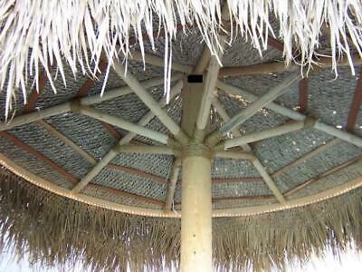 Palapa Mexico Palm Leaf Thatch 12/' Round Umbrella Cover Comm Grade Tiki Bar