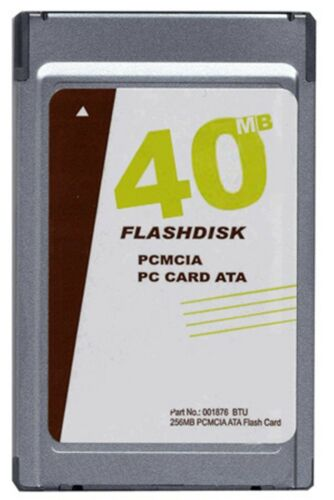 New MemoryX 40MB PCMCIA ATA Flash Card Sandisk equivalent p//n SDP3B-40