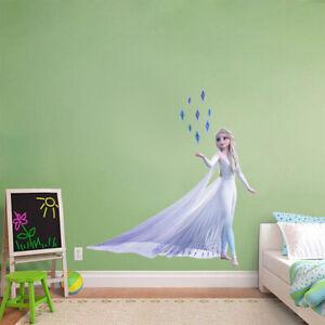 Elsa Wall Sticker Decal Diy Mural Disney Princess Frozen 2 Girls Bedroom Wc345 Ebay