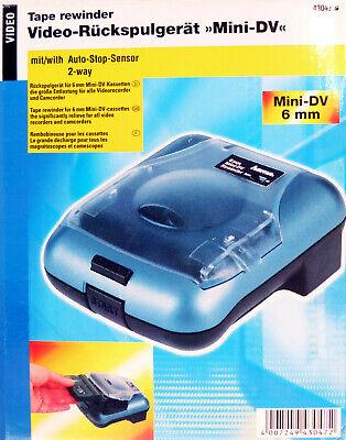 Hama Rewinder Mini DV Camcorder Video Kassetten Rückspulgerät und Vorspulgerät