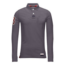 342af1fa item 2 Mens Polo T Shirt Long Sleeve Cotton Stallion Pique Casual Collared  Top Designer -Mens Polo T Shirt Long Sleeve Cotton Stallion Pique Casual  Collared ...