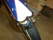 "N.O.S. WHIZZER / SCHWINN / ANY BICYCLE: 3 1/4"" FENDER TIPS. COOL ADORNMENTS!!"