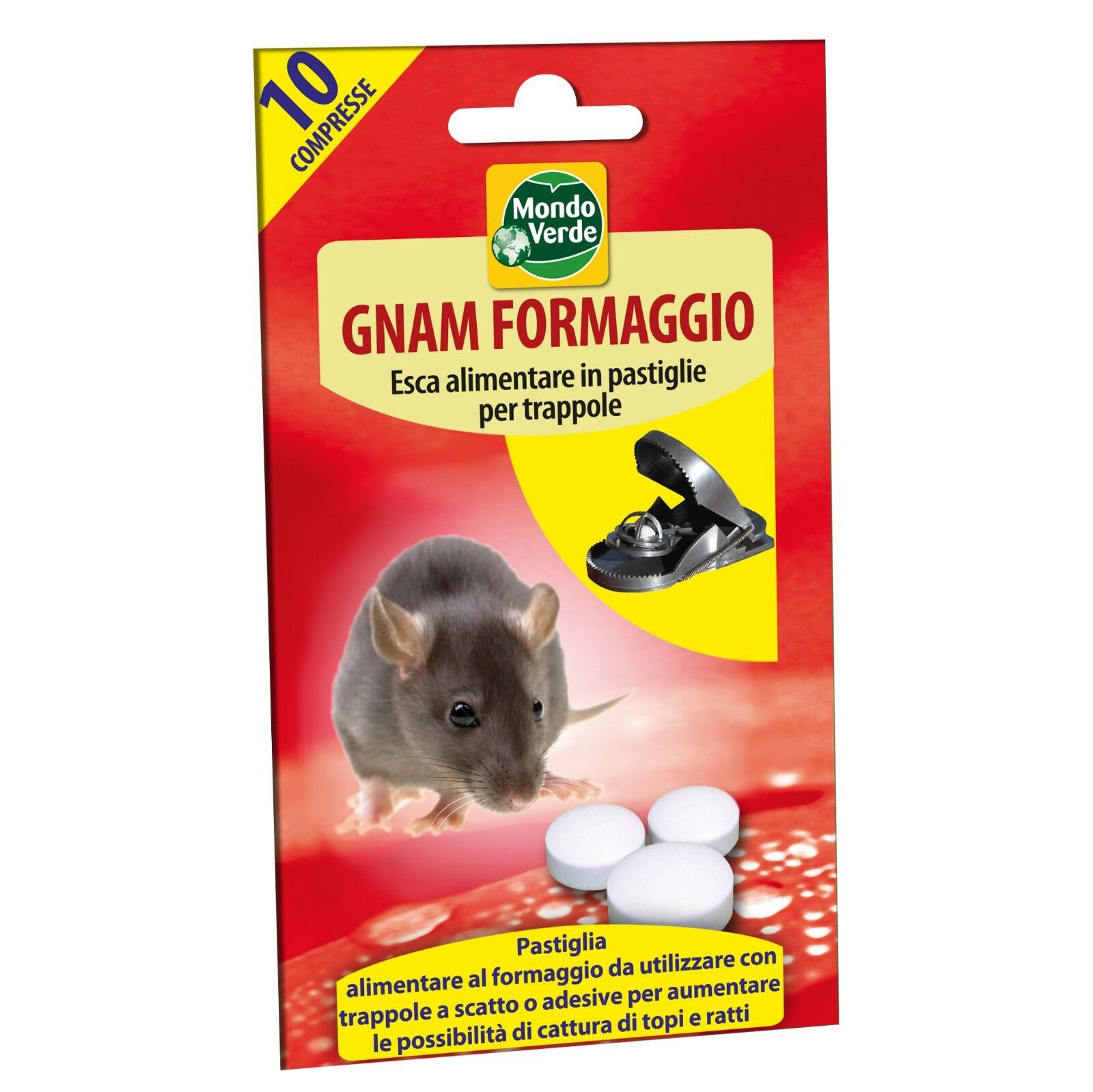 Rat bait food yum cheese it is a natural and non-toxic product