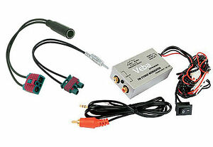Veba-Wired-FM-Modulator-for-Volvo-C30-C70-S40-V50-iPod-iPhone-MP3-AUX-adapter