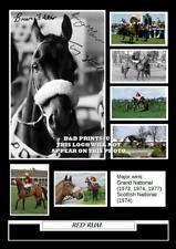 (#155) red rum signed fletcher mccain stack size a4 photograph (reprint) #######
