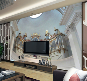 3D Luxury Palace 766 Wall Paper Murals Wall Print Wall Wallpaper Mural AU Kyra