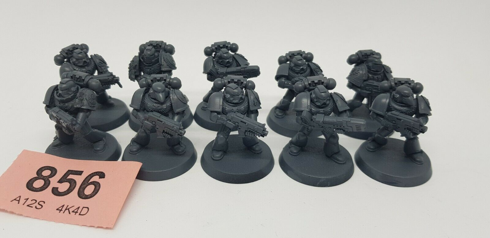 Warhammer 40k - Space Marines - Red Scorpions Tactical Squad  (856)