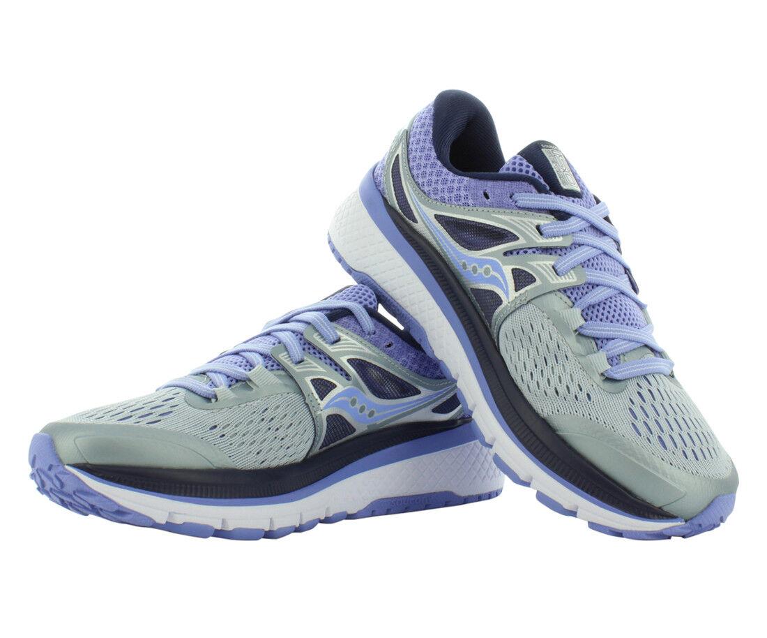 donna Saucony scarpe Triumph 3 grigio viola Running scarpe S10346-4 NEW