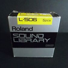 Roland SOUND LBRARY L-506 S Series Digital Sampler Discs S330 W30 S550 S50