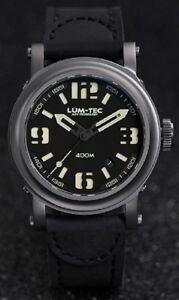 NEW Lum-Tec 400M series 400M-1 Military Miyota 9015 automatic Watch WARRANTY