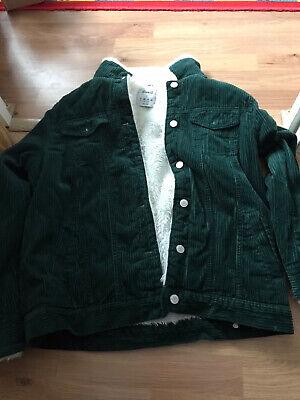 womens Green Cord Jacket Size 12 Primark   eBay