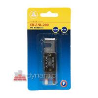 Jl Audio Xb-anl-200 Car Amplifier 200 Amp Nickel-plated Anl Blade Fuse