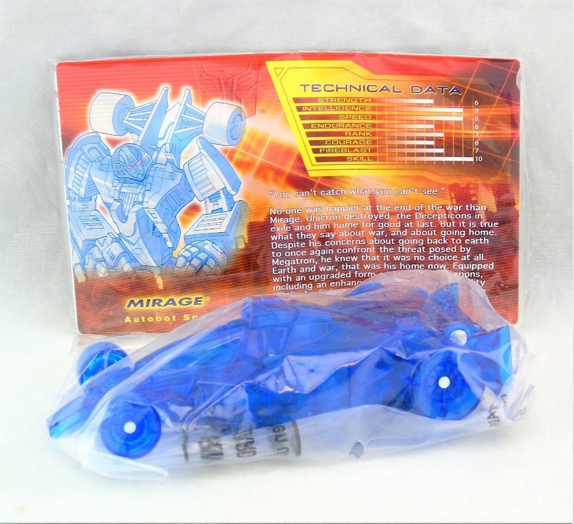 Transformers botcon 2007 Deluxe Class Mirage Exclusive Scellé