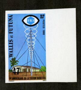 Wallis-et-Futuna-Stamps-254-XF-OG-NH-Imperf