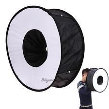 SpeedLite Softbox Ring Flash Diffuser Soft Round Light 45cm Foldable Speedlight