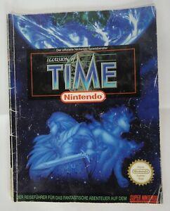 Illusion of Time Spieleberater Original SNES Offizieller Super Nintendo Guide DE