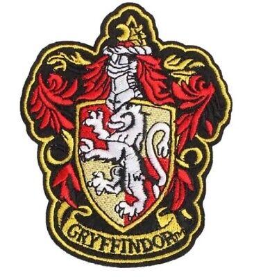 Harry Potter Wappen GRYFFINDOR Aufnäher Patch *BLITZVERSAND /& NEU*