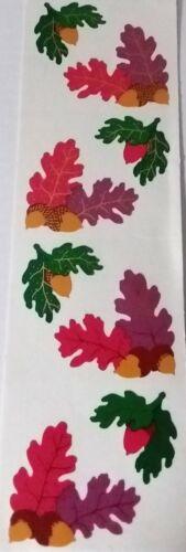 Free Shipping Vintage Stickers .. Mrs Grossman ......ACORNS  LEAVES 1997 ....
