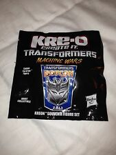 Transformers 2013 BOTCON Kre-o 5 pack Kreo Machine Wars Exclusive New Misb