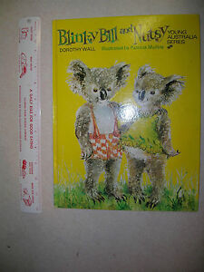 Blinky-Bill-and-Nutsy-Dorothy-Wall-Illus-Patricia-Mullins-1972-Young-Australia