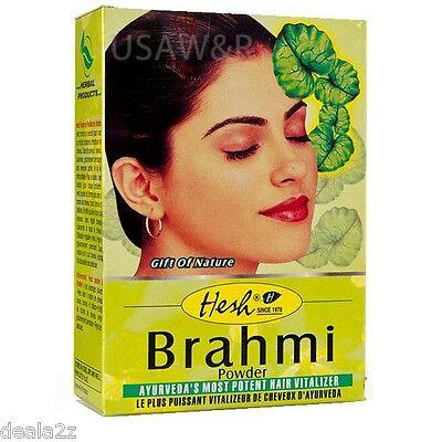 BUY 5 GET 1 FREE Hesh Brahmi Powder  Bacopa for Nice dark healthy hair USA SELER