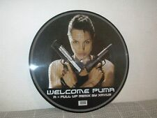 XAVIUS MAFIA HOUSE WELCOME PUMA ANGELINA JOLIE TOMB RAIDER PICTURE DISC 12''