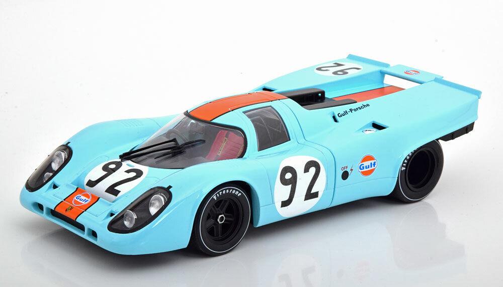 1 18 CMR Porsche 917K  92, Can-Am Watkins Glen van Lennep 1971 Gulf