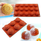 Non-Stick Sunflower Silicone Mold Soap Pan Pudding Chocolate Bakeware Tray Mould