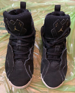 Jordans Sneackers Boys Or Girls Size 3Y Black Great Condition Free Shipping