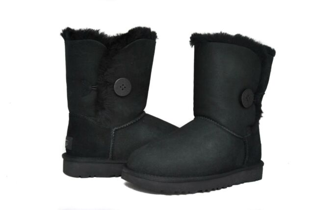 1f38eb7fb9f UGG Australia Womens Bailey Button BOOTS II 1016226 in Black 10
