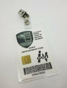 Jurassic-World-Id-Badge-Acu-Igen-Haeuptling-Sicherheit-Kostuem-Cosplay-Asset