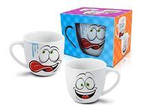 """""""Occhi"""" divertente e colorata Tazza in ceramica per Bambini 350ml REGALO"""