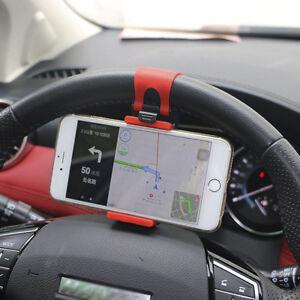 AUTO-DECORATIVE-ACCESSORIES-Car-Steering-Wheel-Bike-Handlebar-Phone-Holder-Clip
