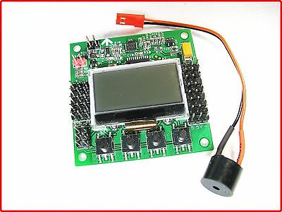 KK2.1.5 Multi-Rotor LCD Flight Control Board mit Atmel 644PA - neueste Version!