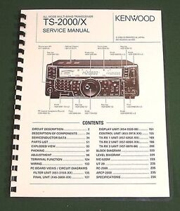 kenwood ts 2000 service manual