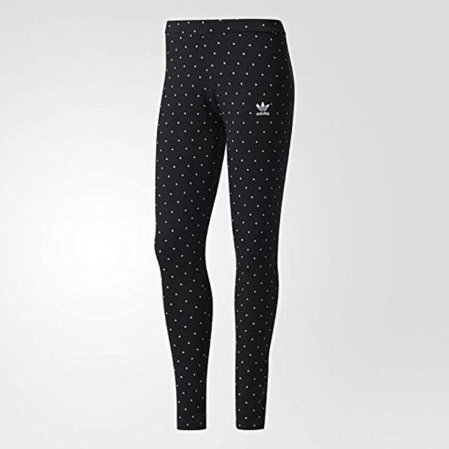 buy popular aefe1 1432f adidas Originals Pharrell Williams HU Thigh New Women s Leggings Black BNWT