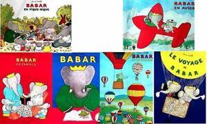 Babar-Poster-Travel-of-Babar-Babar-amp-Family-La-Voyage-of-Babar-Baba-en-Famile