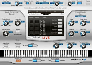 ANTARES Auto Tune Live Pitch Correction Vocal Effect Editing Download  Version
